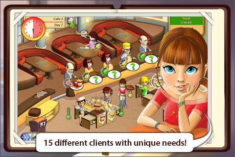 Screenshot Amelie's Cafe