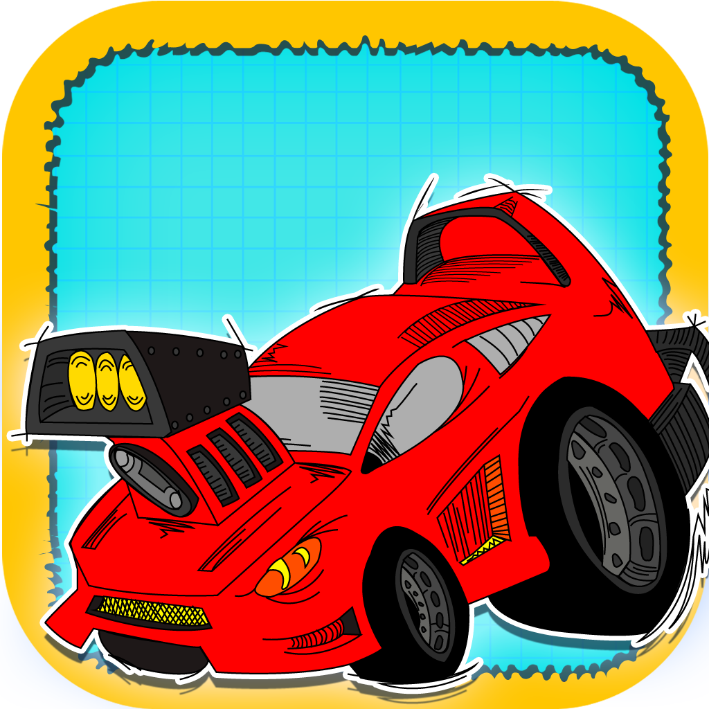 Doodle Sprint Car Race - Furious Dodge Traffic Speed Racing for boys FREE